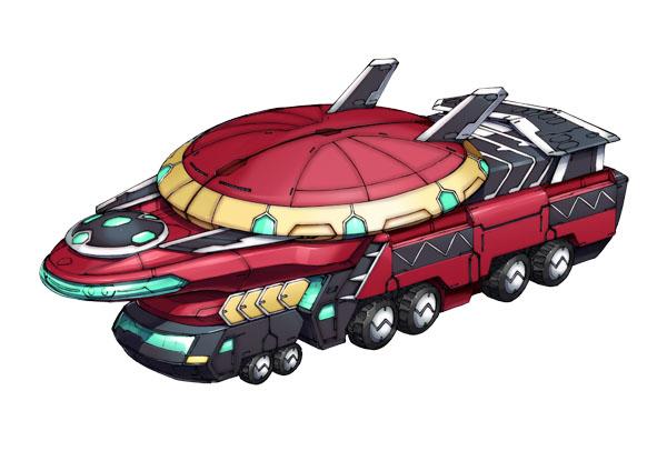 龍亀一號(りゅうきいちごう)車両形態